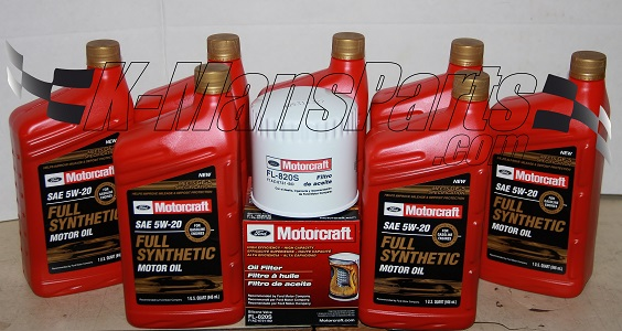 Motorcraft Qt W  Full Synthetic Oil Change Kit F Series
