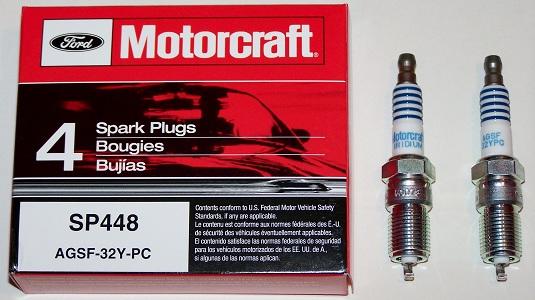 Motorcraft spark plugs AGSF-32-YRA 2005-2011 Focus 2.0 2.3
