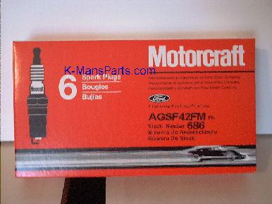 Motorcraft spark plugs AGSF-42-FM Mustang V6