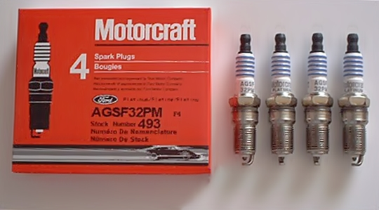 Motorcraft spark plugs AGSF-32-PM SP493
