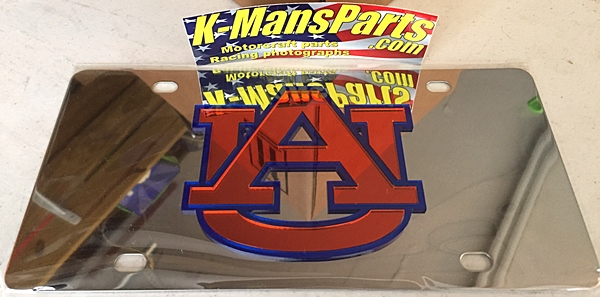Auburn Tigers vanity license plate car tag