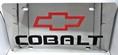 Chevrolet Cobalt vanity license plate tag