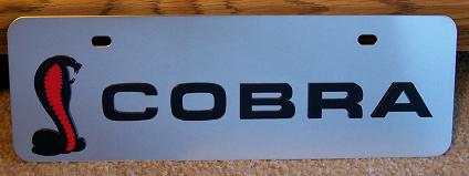Mustang Cobra s/s plate half high