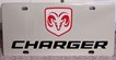 Dodge Charger vanity license plate car tag