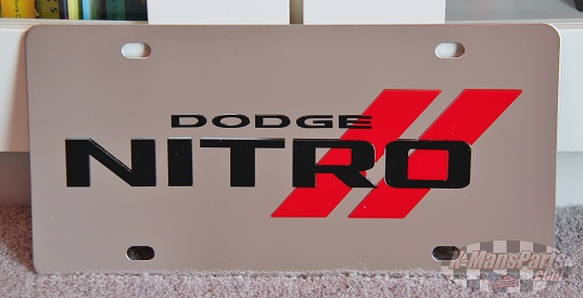 Dodge Nitro vanity license plate car tag