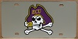 East Carolina Pirates vanity license plate car tag