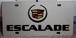 Cadillac Escalade (black) S/S plate