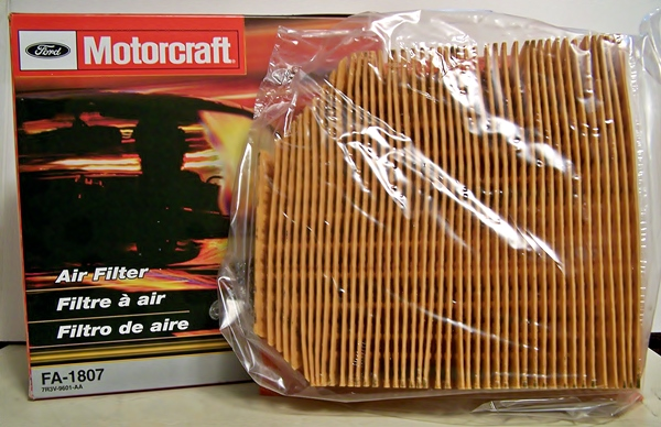 Motorcraft FA-1807 air filter 2007 to 2009 Mustang Shelby GT500