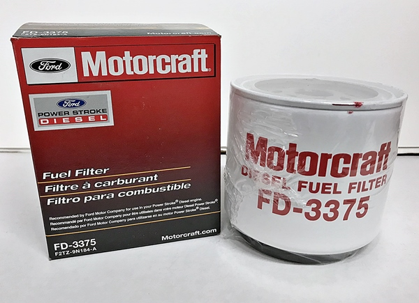 Motorcraft FD-3375 fuel filter 7.3 IDI Diesel 1988-1994