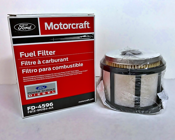 Motorcraft FD4596 fuel filter 7.3 Power Stroke Turbo Diesel 1998-2003