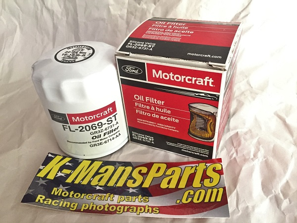 Motorcraft FL-2069-ST oil filter GT350 5.2