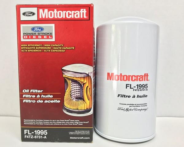 Motorcraft FL-1995 oil filter 7.3 Power Stroke Turbo Diesel