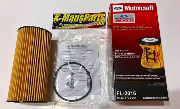 Motorcraft FL-2016 oil filter 6.0 6.4 Power Stroke Diesel