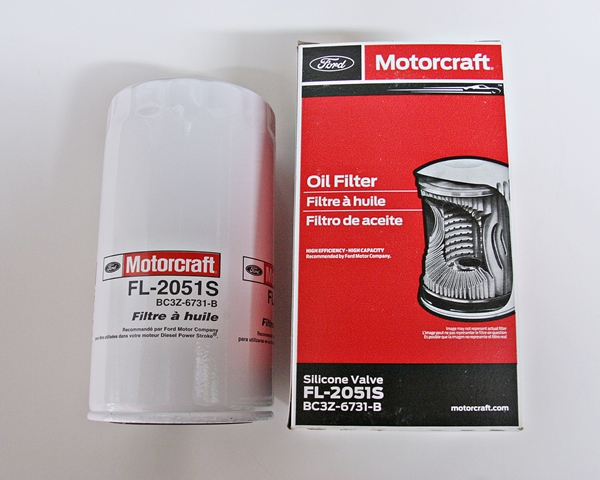 Motorcraft FL-2051S oil filter 6.7 Power Stroke Diesel