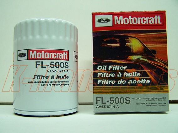 Motorcraft Oil Filter Fl S