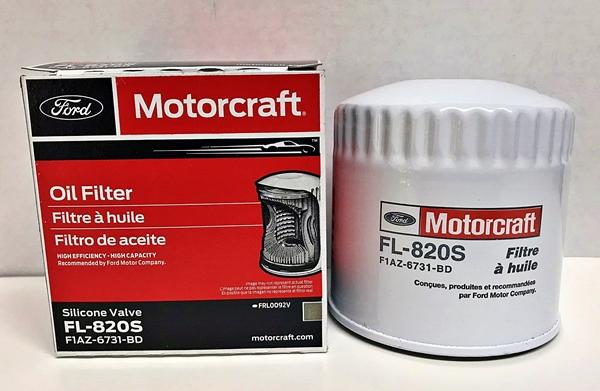 Motorcraft FL-820S oil filter FL820S