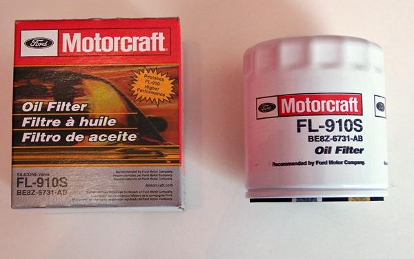 Motorcraft FL-910S oil filter Ford OE