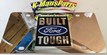 Built Ford Tough vanity license plate car tag