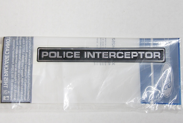Ford Crown Victoria & Taurus Police Interceptor emblem OEM