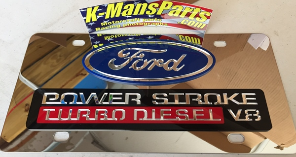 Ford Power Stroke Turbo Diesel 6.0 2005 vanity plate