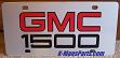 GMC 1500 (red/black) S/S plate