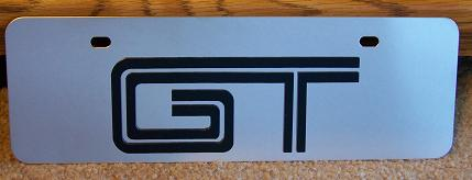 Mustang GT s/s plate half high