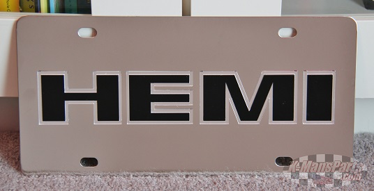 MOPAR Hemi Dodge Jeep Chrysler vanity license plate car tag