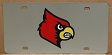 Louisville Cardinals vanity license plate car tag