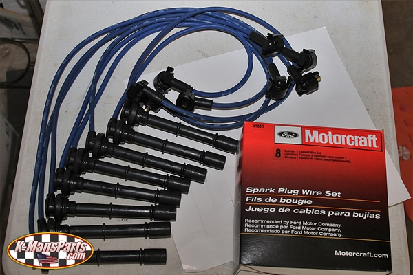 Ford Motorcraft spark plug wires 1996-1998 Mustang Co 4.6 DOHC on motorcraft battery, motorcraft spark plug conversion chart, motorcraft vacuum advance, ford focus plug wires, motorcraft spark plug specs, motorcraft fuel filters, motorcraft carburetor, motorcraft wiper blades, motorcraft shocks, motorcraft coolant, motorcraft fuel pump, motorcraft xl 6, motorcraft condenser, motorcraft spark plug gap, motorcraft ignition module, motorcraft spark plugs application chart, motorcraft spark plug reference list, car spark plugs and wires, 1994 ford ranger plug wires, motorcraft spark plug heat range number,