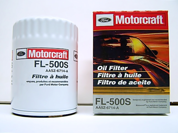 Motorcraft FL-500S oil filter Ford OEM