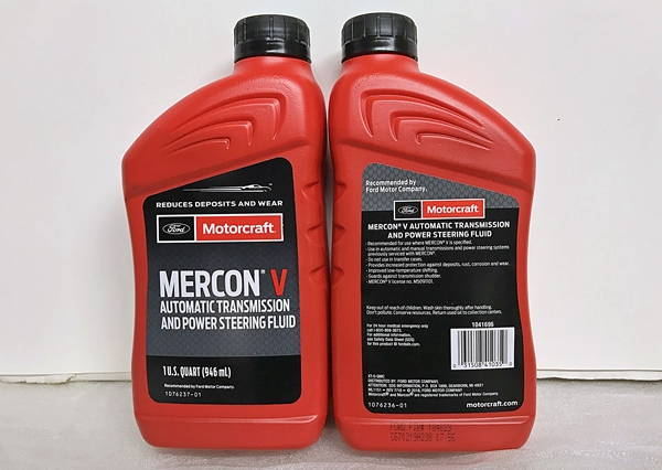 Motorcraft Mercon V XT-5-QMC quart