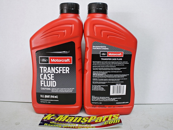 Motorcraft XL-12 Ford Transfer Case Fluid quart