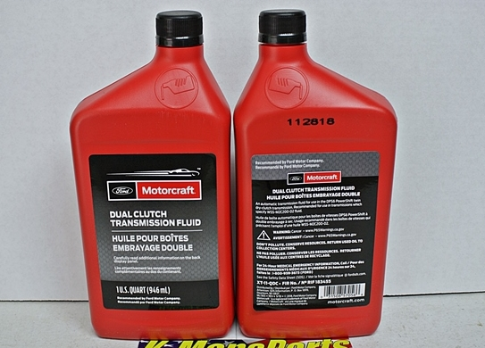 Motorcraft dual clutch transmission fluid XT11QDC quart