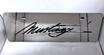 Mustang script vanity license plate 4 inch high