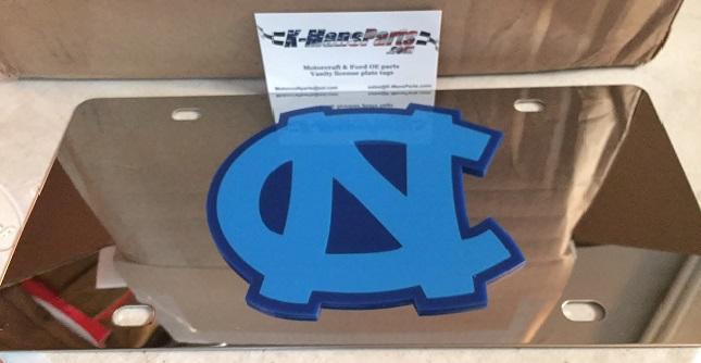 North Carolina Tar Heels vanity license plate car tag