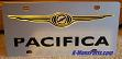 Chrysler Pacifica (black/color) S/S plate