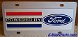 Powered by Ford color vanity license plate car tag
