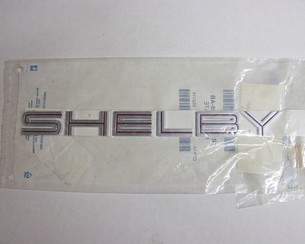 2007 Ford Mustang SHELBY GT500 red package rear emblem