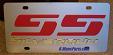Chevrolet Silverado Super Sport (red/gold) S/S plate