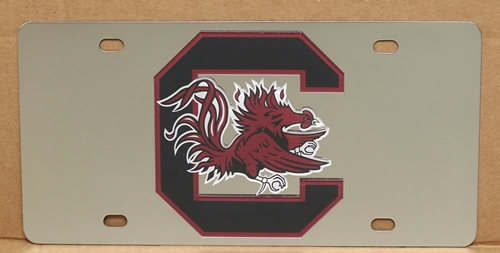 South Carolina Gamecocks vanity license plate car tag
