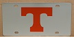 Tennessee Volunteers vanity license plate car tag