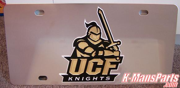 Central Florida Knights UCF vanity license plate car tag