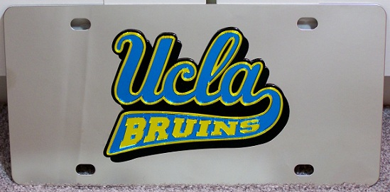 UCLA Bruins vanity license plate car tag