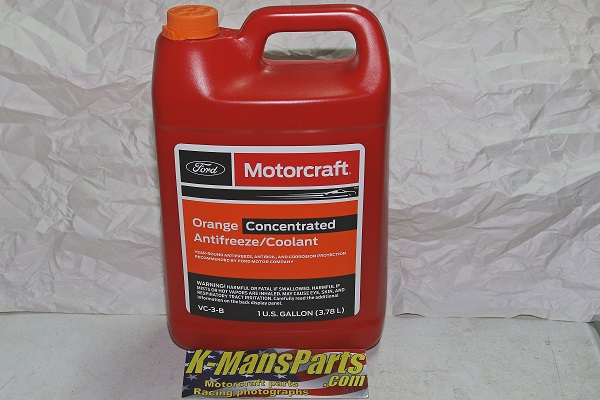 Motorcraft VC3B engine coolant system Orange anti-freeze