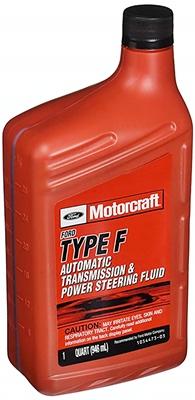 Motorcraft Type F transmission fluid XT-1-QF quart