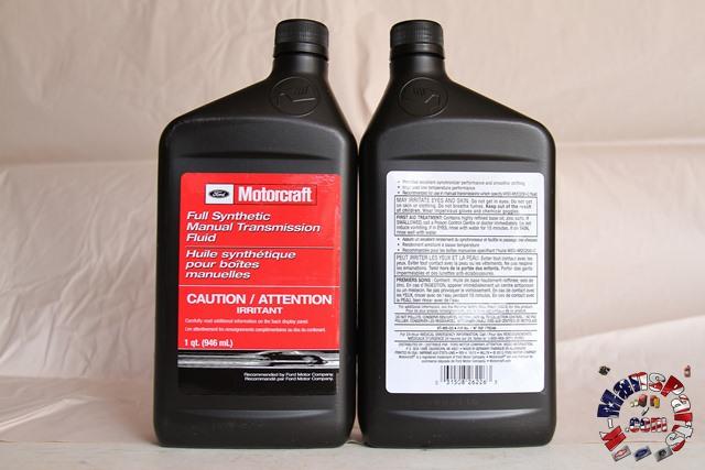 Motorcraft MTX-75 & IB5 transmission fluid XT-M5-QS quart