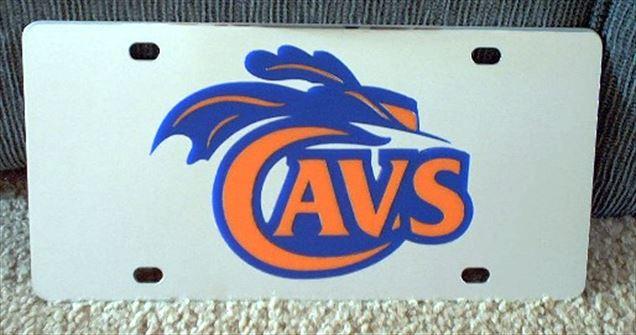 Virginia Cavaliers vanity license plate car tag
