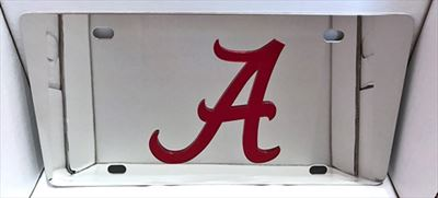 Alabama Crimson Tide vanity license plate car tag