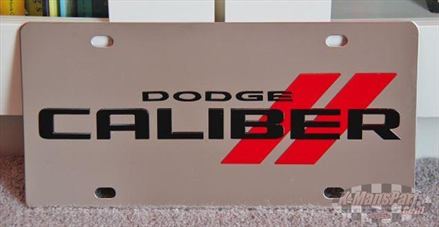 Dodge Caliber vanity license plate car tag