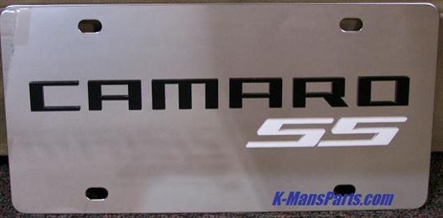 Chevrolet Camaro Super Sport S/S plate white